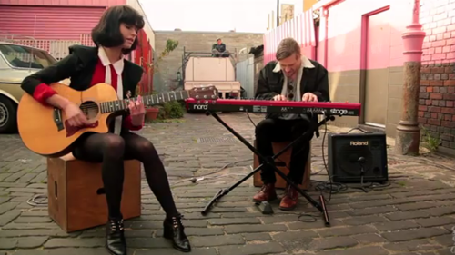 Sam Lawrence and Kimbra