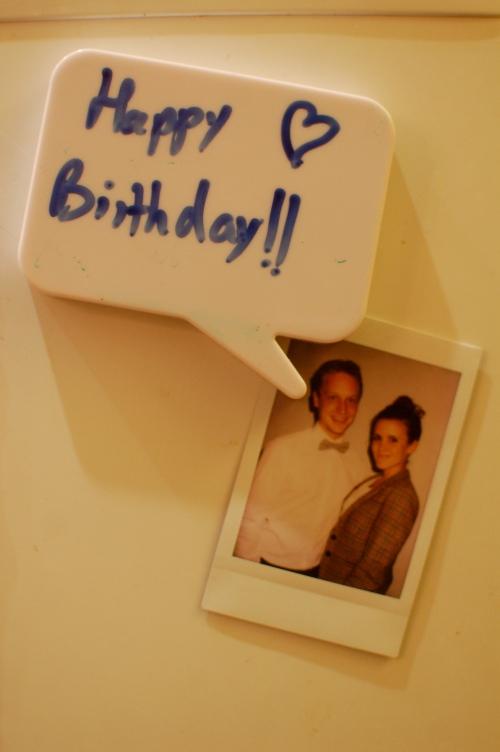 Fridge birthday love