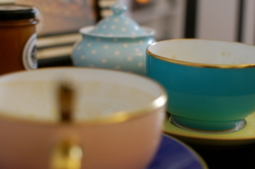 Limoges breakfast cups