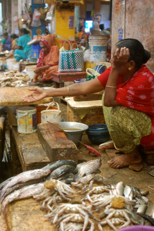 Grand Bazaar Fish Market, Pondicherry
