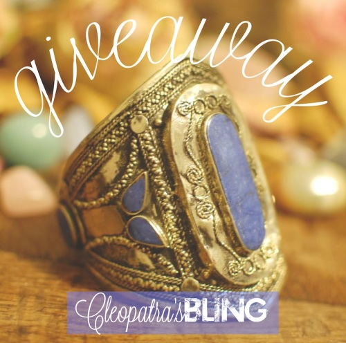 Giveaway on Cleopatra's Bling