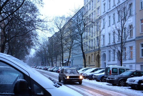Snow in Berlin