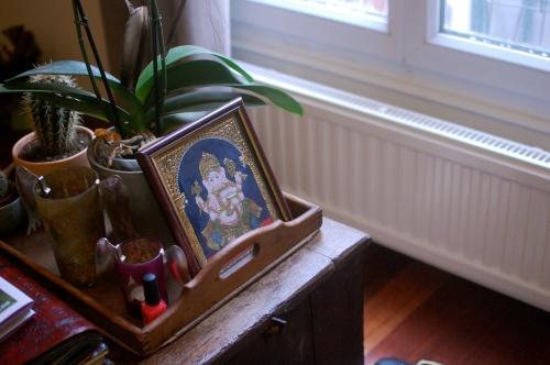 Vintage Ganesh painting