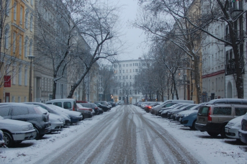 Snow in Berlin