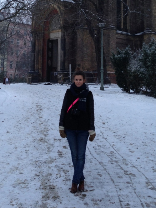 Berlin in the snow