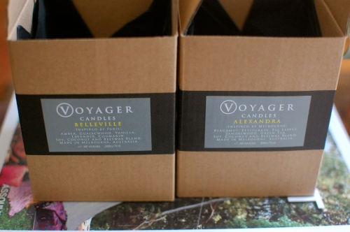 Voyager Candles